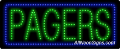 Pagers LED Sign