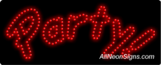 Party LED Sign