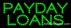 Payday Loans LED Sign