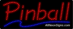 Pinball LED Sign