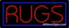 Rugs LED Sign