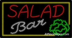 Salad Bar LED Sign