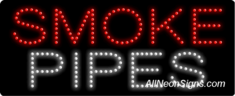 Smoke Pipes LED Sign