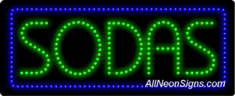 Sodas LED Sign