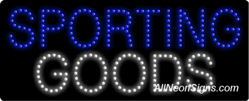 Sporting Goods LED Sign