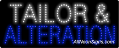 Tailor & Alteration LED Sign