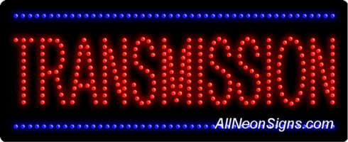Transmission LED Sign