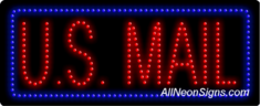 U.S. Mail LED Sign