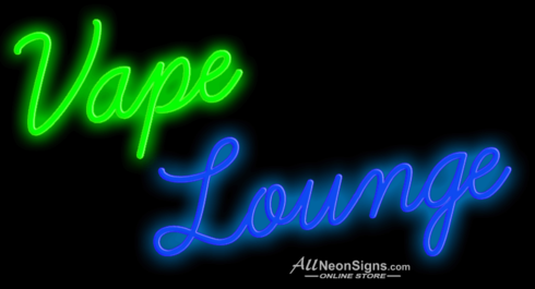 Vape Lounge – 024 - NEON SIGN