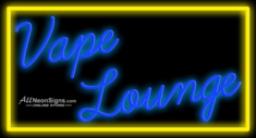 Vape Lounge � 025 - NEON SIGN
