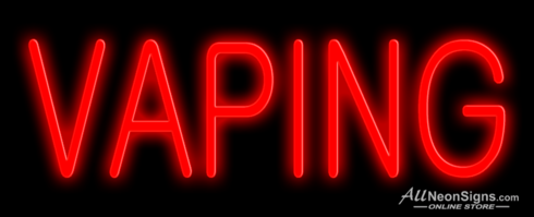 Vaping – 007 - NEON SIGN