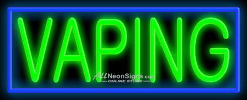 Vaping – 009 - NEON SIGN