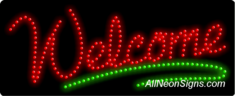 Welcome LED Sign