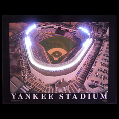 YANKEE STADIUM NEON/LED PICTURE