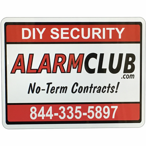Home Security Yard Sign - AlarmClub®