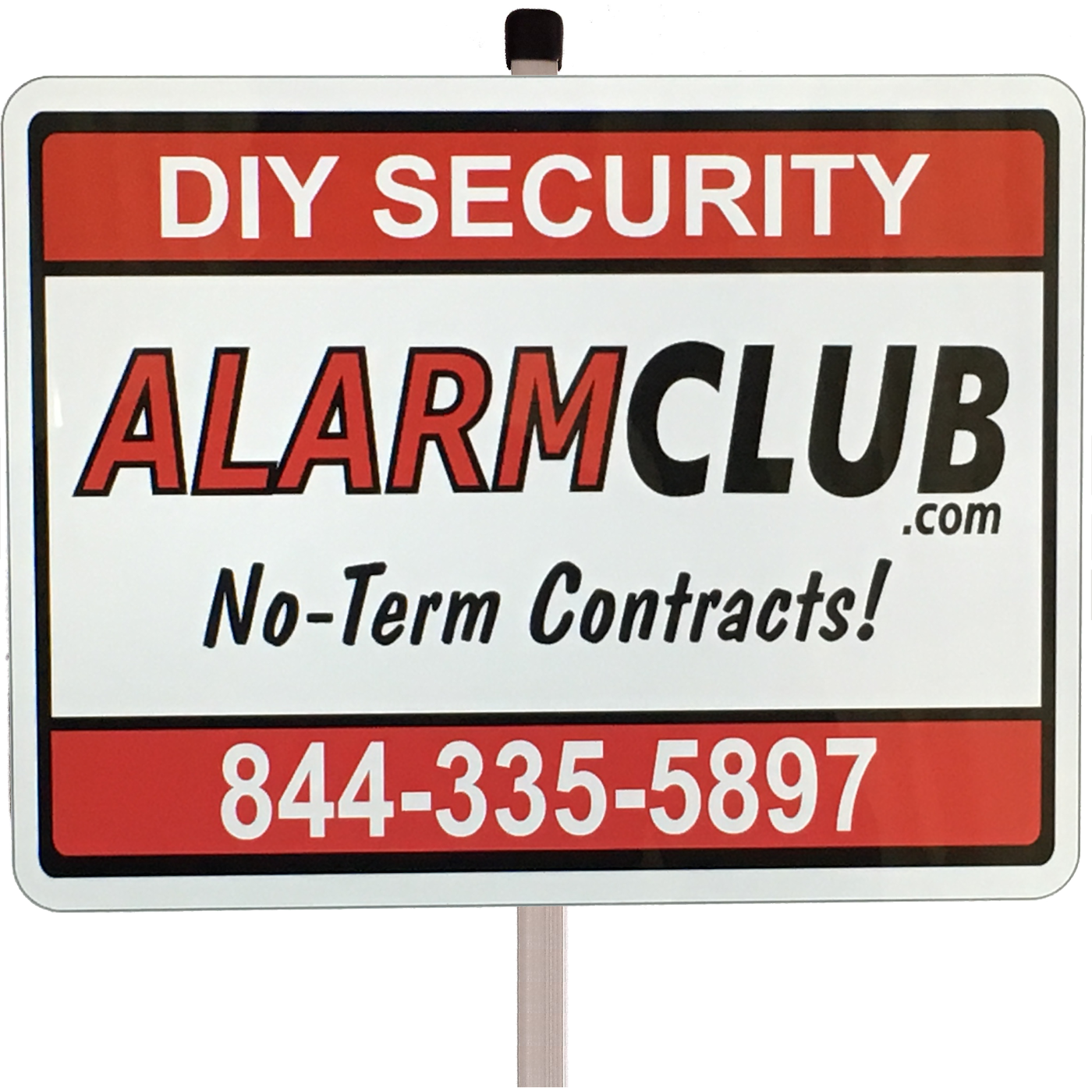 home security sign