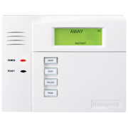 6150 - Honeywell Fixed-English Display Hardwired Alarm Keypad (w/Function Buttons)