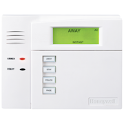 6150RF - Honeywell Fixed-English Hardwired Alarm Keypad (w/Integrated 16-Zone Wireless Receiver)