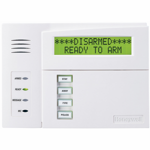 Honeywell 6160V Talking Alpha Programming Wired Alarm Keypad