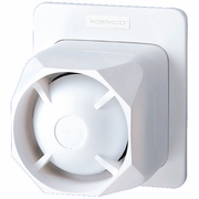 Honeywell 748LC Hardwired Alarm Siren (Indoor/Outdoor, Dual-Tone, Low-Current, 112dB)