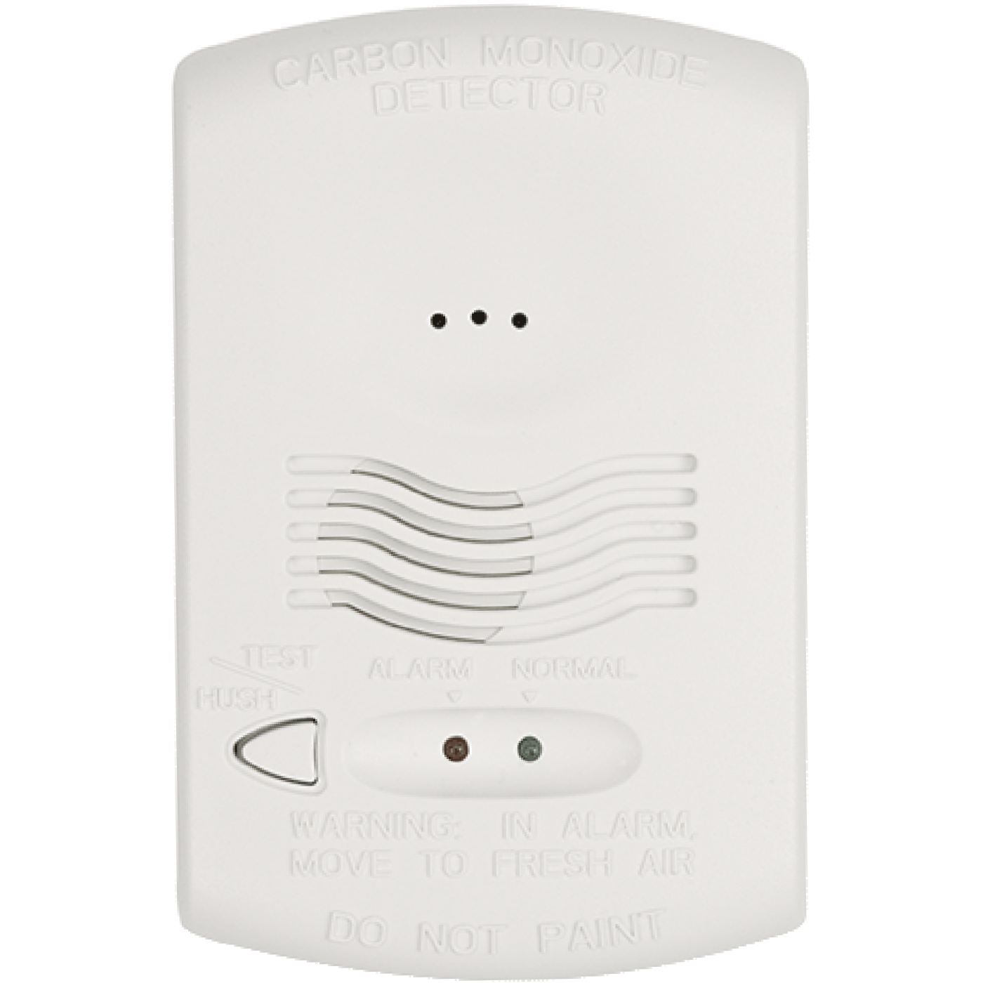 CO1224T - Honeywell System Sensor 4-Hardwired Carbon Monoxide Detector
