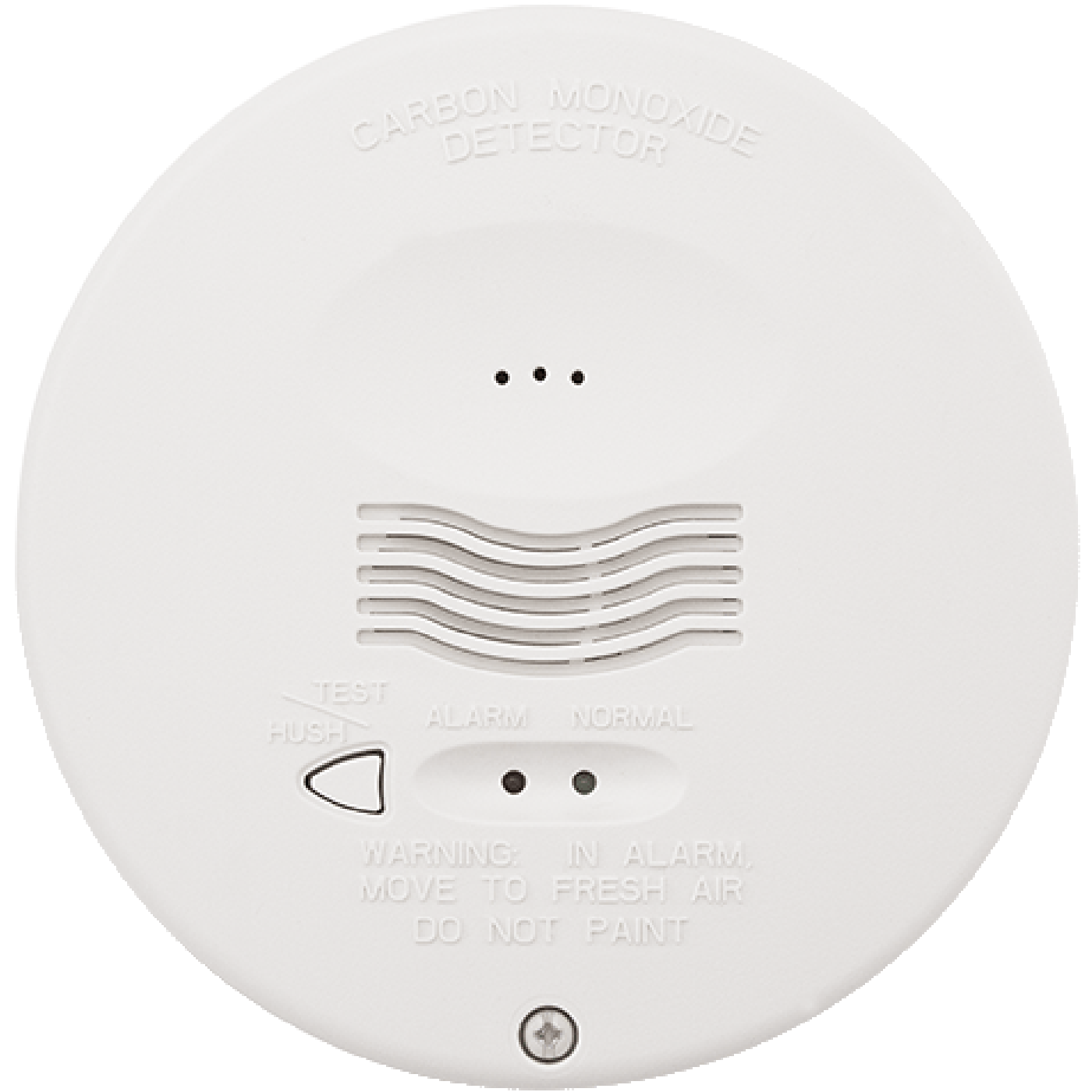 CO1224TR - Honeywell System Sensor 4-Hardwired Round Carbon Monoxide ...