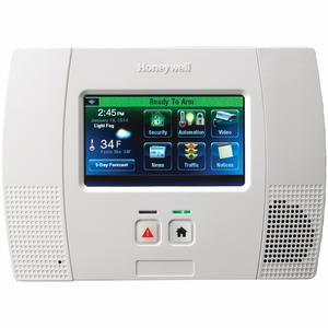 Honeywell LYNX Touch L5200 Wireless Touchscreen Alarm Control Panel