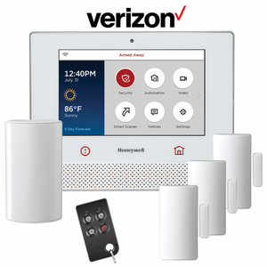 Honeywell Lyric Controller Cellular CDMA Wireless Security System Kit (via Verizon Network)
