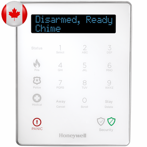 LKP500-ENC - Honeywell Lyric Wireless Alarm Keypad (for Canada)