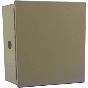 "I7-ZADIBW98 - Garvin Industries Metal Beige Mounting Can (8"" x 7"" x 3.5"")"