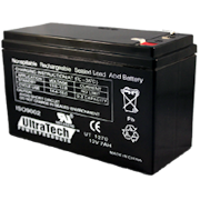 IM-1270 - Ultratech 12V @ 7AH Sealed Lead Acid Alarm Battery