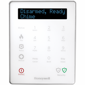 LKP500-EN - Honeywell Wireless Alarm Keypad (for Lyric Controller)
