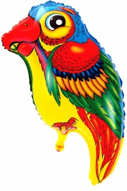 "24.8"" Mylar Parrot Balloon - click to enlarge"