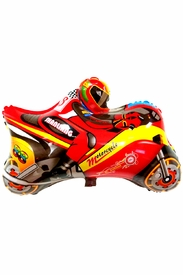 "26.8"" Mylar Motocross Motorcycle Balloon - click to enlarge"