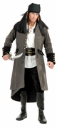 Suede Pirate Coat for Adult Costumes