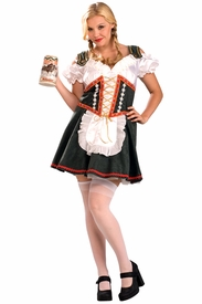 Beer Garden Girl Plus Size Adult Costume - click to enlarge