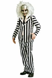 Beetlejuice Striped Suit Costume - click to enlarge