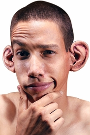 Big Ears Latex Prosthetic Set - click to enlarge