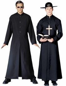 Cyber Man or Priest costume - click to enlarge