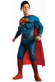 Deluxe Superman Man of Steel Child Costume - click to enlarge