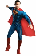 Deluxe Superman Man of Steel Superman Muscle Adult Costume