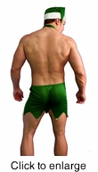 Elf Man Costume - Alternate View - click to Enlarge