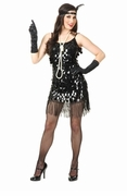 Flashy Flapper Starlet Sequin Dress