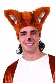 Fox Hat with Ears - click to enlarge