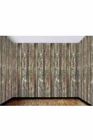 Haunted House - Rotted Wood Wall Decoration - click to enlarge