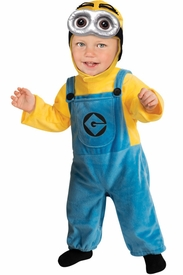 Infant or Toddler Despicable Me Minion Costume - click to enlarge