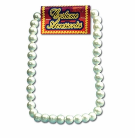 Large Pearl Necklace - Costume - click to enlarge