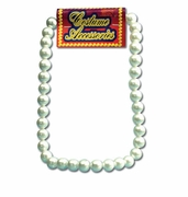 Large Pearl Necklace - Costume
