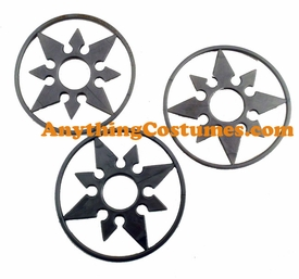 Ninja Stars Accessories 3 Pack - click to enlarge