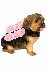 Pet Pink Fairy Wings - click to enlarge